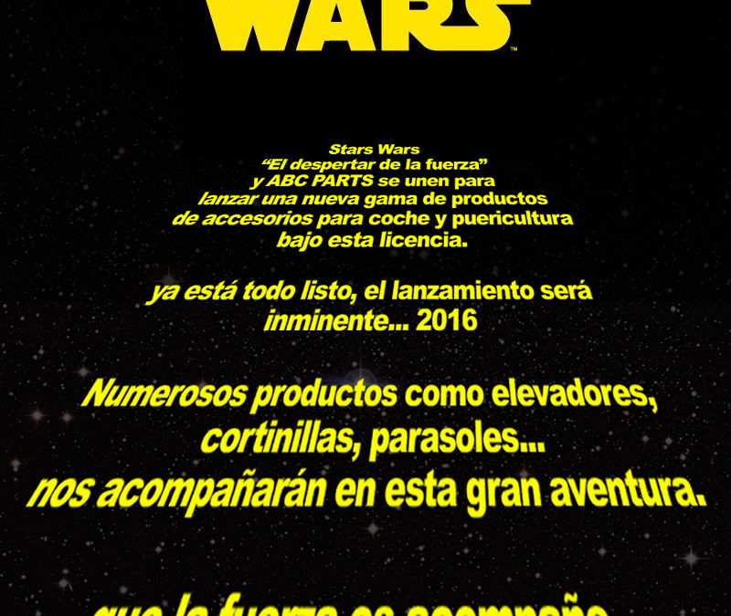 Star Wars en ABC PARTS