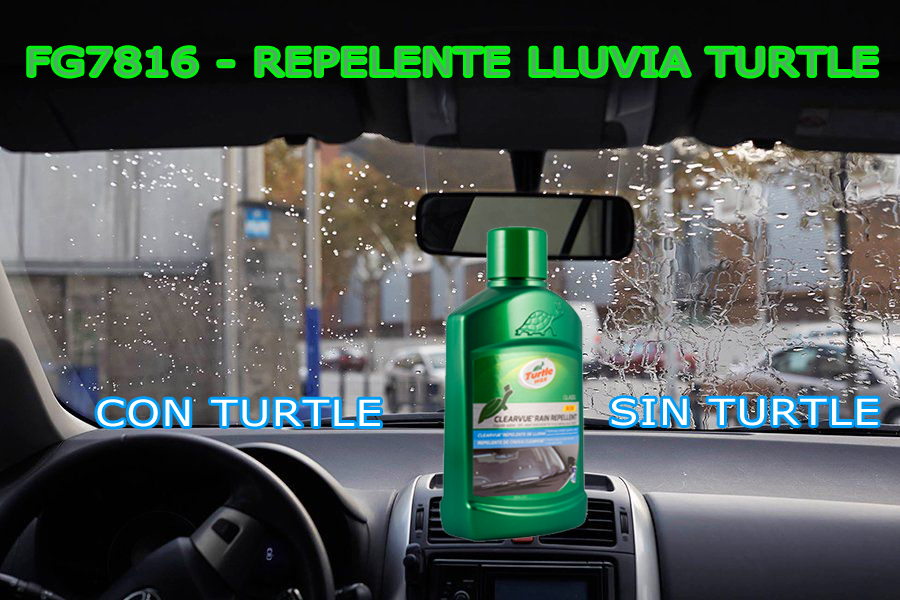Repelente Lluvia Turtle Wax FG7816